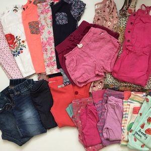 Huge Girls 4T Clothing Lot Good Brands
